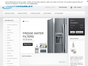 High quality water filters for each fridge